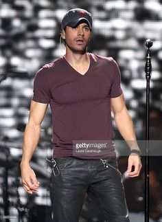 Enrique Iglesias performs in concert at Madison Square Garden on September 25, 2014 in New York City.