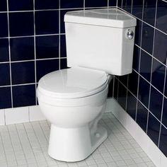 Barnum Dual Flush Corner Toilet with Seat