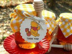 Custom Order: Winnie The Pooh Honey Jar Favors 25 Ct.