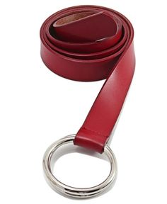 Genuine Leather Belt - Red Belt, Leather, Accessories, High Waist, Gender, Metallic, Eyes, Products, Belts