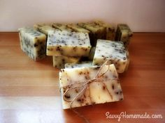 I've made this basic soap recipe dozens of times. It's made with simple ingredients to make a great creamy natural homemade soap. It holds a good hardness and lathers up very well.