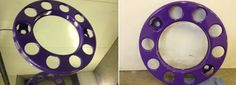 Here they are! The same lorry wheel trims as last week only shinier, cleaner and purple! Find out more by visiting our website -