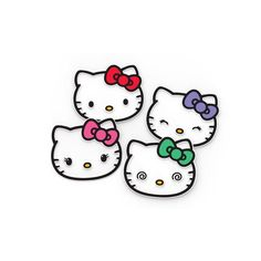 Hello Kitty silicone coaster set with 4 pcs from Japan