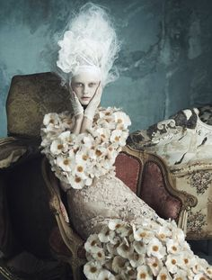 """Opulenz a la Marie Antoinette"" by Luigi and Daniele + Iango for Vogue Germany"