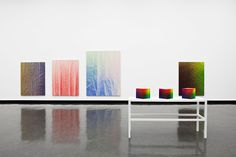 Selected Works by New York Artist Tauba Auerbach.