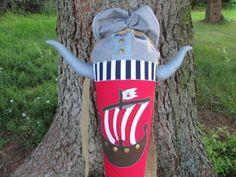 Schultüte aus Stoff Wikinger von lisifrey auf DaWanda.com