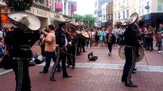 Mariachi Group on Grafton Street, Dublin