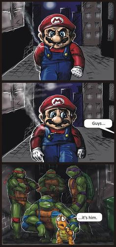 Mario Is In Trouble