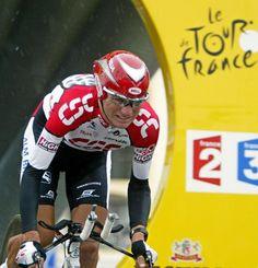 US Tyler Hamilton (CSC) in the 2003 Tour de France
