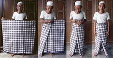 How to wear a sarong for men