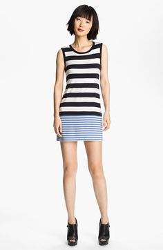 B44 Dressed by Bailey 44 'Damsel Fish' Stripe Tank Dress available at #Nordstrom