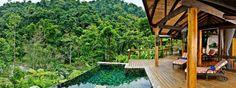 Es el alojamiento en Costa Rica. Le dejo mucho dinero en el alojamiento.