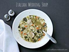 Homemade Italian wedding soup recipe - Debbiedoo's
