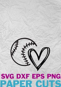 Softball Players, Music Aesthetic, Paper Cutting, Silhouette, Digital, Heart, Etsy, Design, Musica
