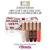 6PC GIFT SET-MILANI Crystal Gloss For Lips, Lip gloss Set - http://47beauty.com/cosmeticcompanies/6pc-gift-set-milani-crystal-gloss-for-lips-lip-gloss-set/ https://www.avon.com/?repid=16581277 MILANI Crystal Gloss For Lips Crystal Gloss offers a range of fantastic mega-shine colors that leave lips feeling soft and supple. Choose from 10 spectacular glass-shine shades, from dreamy creams to dazzling pearls.   Colors (Contains):   MCG02A-Diamond Pearls MCG04-Sweet Desire MCG07-