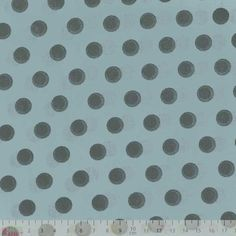 Cotton Lawn - Polka Dot Dusty Blue Dressmaking Cotton from Plush Addict
