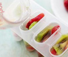 Picolé de frutas como fazer em casa