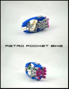 Rocket Bike - New Ideas Lego Mechs, Lego Bionicle, Nave Lego, Lego Cars, Technique Lego, Lego Machines, Lego Sculptures, Micro Lego, Amazing Lego Creations