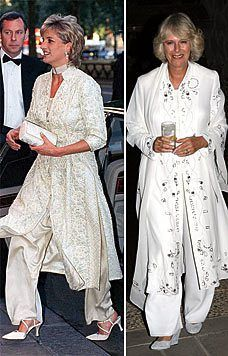 Camilla's favoured dress for yours copied from Diana Diana Wedding Dress, Royal Family Portrait, Prinz Charles, Camilla Duchess Of Cornwall, Princess Diana Family, Diana Fashion, Princess Pictures, Lady Diana Spencer, Herzog
