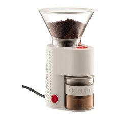 BISTRO Bodum Electric coffee grinder Off white