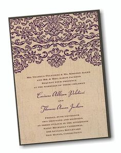 Rustic Layers Wedding Invitation. Only $1.76 each when you purchase 100!