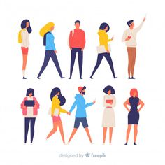 Create a new digital and authentic character Illustration or graphics contest design Illustration Design Plat, Illustration Art Nouveau, Graphic Illustration, Landscape Illustration, Human Vector, Simple Character, People Icon, Affinity Designer, Bunt