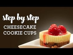 Cheesecake Cookie Cups | NESTLÉ® Very Best Baking