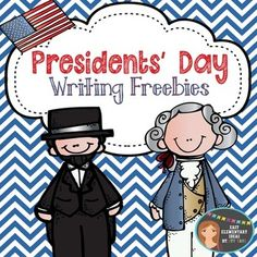 Presidents' Day Writing Freebies