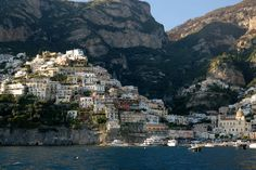 visiting Positano is not like what you see in the picture...it's better