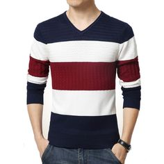Fashion Striped Sweater (2 colors) - Welster - 1