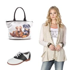 #OOTD: We have the perfect bag for a dog lover! :D