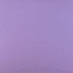 Plain cotton light lavender