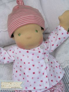 A baby doll made by Lalinda.pl