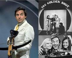 The Golden Shot - TV game show with Bob Monkhouse. Bernie the Bolt, please,,,