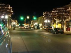 Chelsea, MI : Christmas in downtown Chelsea