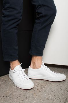 SLIP INTO THESE #commonprojects #sneaker #sotd #shoes #menswear #acnestudios #jeans #trousers #bungalowgallery