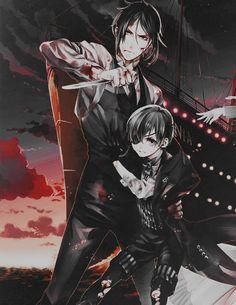 Sebastian Michaelis and Ciel Phantomhive :: Kuroshitsuji : Black Butler, Book of the Atlantic