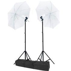 "32"" Umbrella Photo Lighting Continuous Lights Kit"