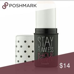 Benefit Primer Stay Flawless 15 hour primer in travel size. Take it just in case you need a touch up! Benefit Makeup Face Primer