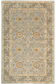 The Home Decorators Collection Tudor PorcelaIn 4 ft. x 6 ft. Area Rug is crafted of wool for durability. It is normal for new wool rugs to shed yarn fibers. It offers a classic look with beautiful combination of colors to your decor. Decor, Traditional Rugs, Rugs On Carpet, Carpet Runner, Dining Room Rug, Blue Oriental Rug, Home Decorators Collection, Rugs, Rugs In Living Room
