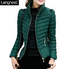 $29.82 (Buy here: https://alitems.com/g/1e8d114494ebda23ff8b16525dc3e8/?i=5&ulp=https%3A%2F%2Fwww.aliexpress.com%2Fitem%2FWinter-Jacket-Women-2015-High-Quality-Turn-down-Collar-Zippers-Pockets-Slim-Solid-Plus-Size-Cotton%2F32346654845.html ) TANGNESTWinter Jacket Women 2016 Turn-down Collar Zippers Pockets Slim Plus Size Cotton Coat Casaco Feminino Inverno WWM216 for just $29.82