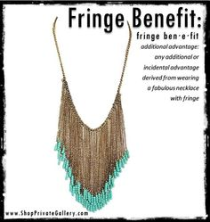 Feeling the Fringe Trend.