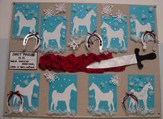 Svatý Martin - kůň a podkovy  (listopad 2017) Winter Kids, Preschool Activities, Martini, Ideas, Tela, Autumn, Kindergarten Activities, Martinis