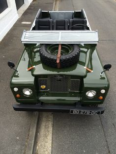 //\ https://flic.kr/p/GZv3wu | Land Rover Series Bronze Green