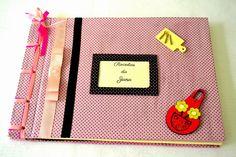Caderno de receitas com Costura Japonesa http://juhlemos.blogspot.com.br/2015/03/pedido-entregue-caderno-de-receitas.html