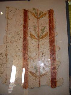 Pintura mural romana. #MARQ (Alicante)