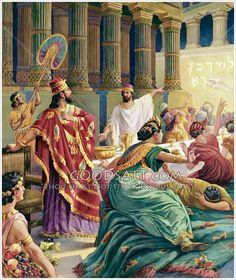 The hand of God writes: Mene Mene Tekel Parsin Daniel 5