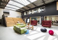 coolest office spaces Munich - Munich Offices GB 5 Virtual Identity