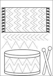 É1.5 c) Reproduit les tracés de base des lettres (cercle, demi‐cercle, grande ligne et petite ligne).