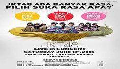 "Jadwal Konser Musik JKT48 ""Ada Banyak Rasa"" di Sport Mall Kelapa Gading Jakarta"